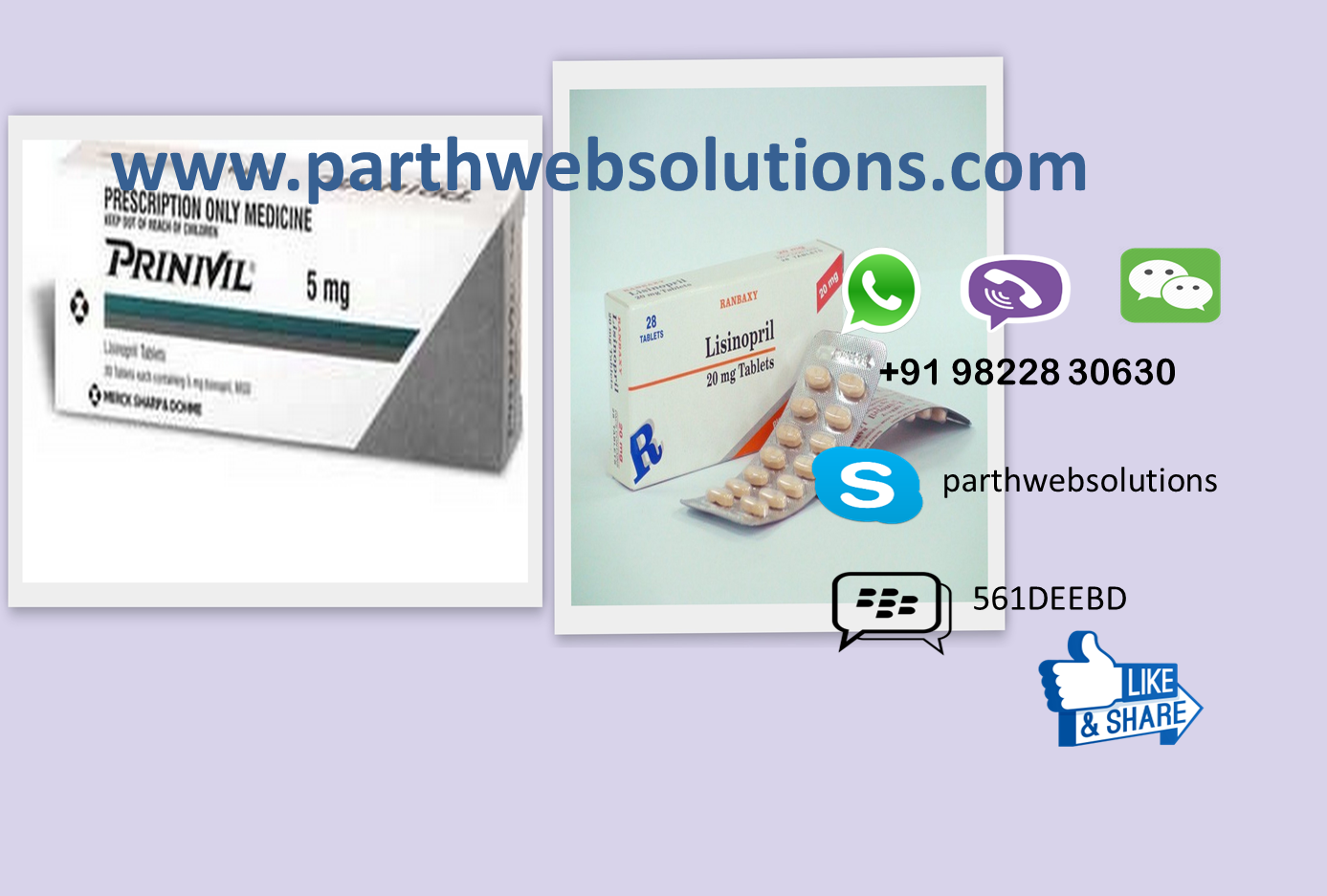 Zestril, Prinivil Tablets (Lisinopril Tablets)