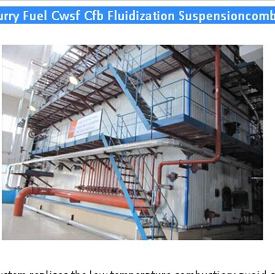 Coal Water Slurry Fuel Cwsf Cfb Fluidization Suspensioncombustionboiler