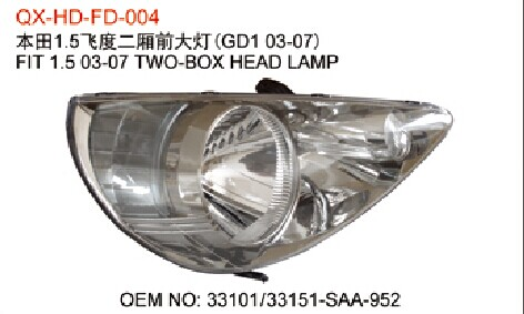 Honda Fit Headlamps