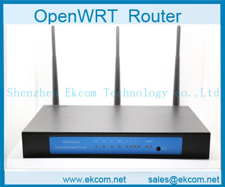 OpenWrt Ar9344 750M Dual-band Gigabit Wireless Router