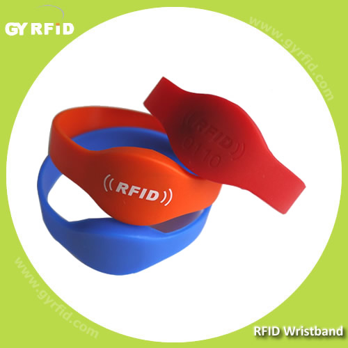 WRWRS05 NFC Silicon Wristband, water proof type (GYRFID)S05 NFC Silicon Wristband, water proof type (GYRFID)