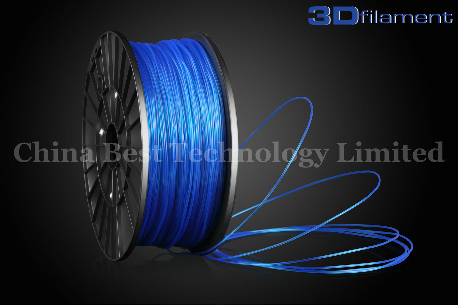 3D Printer Filament PLA 1.75mm Blue