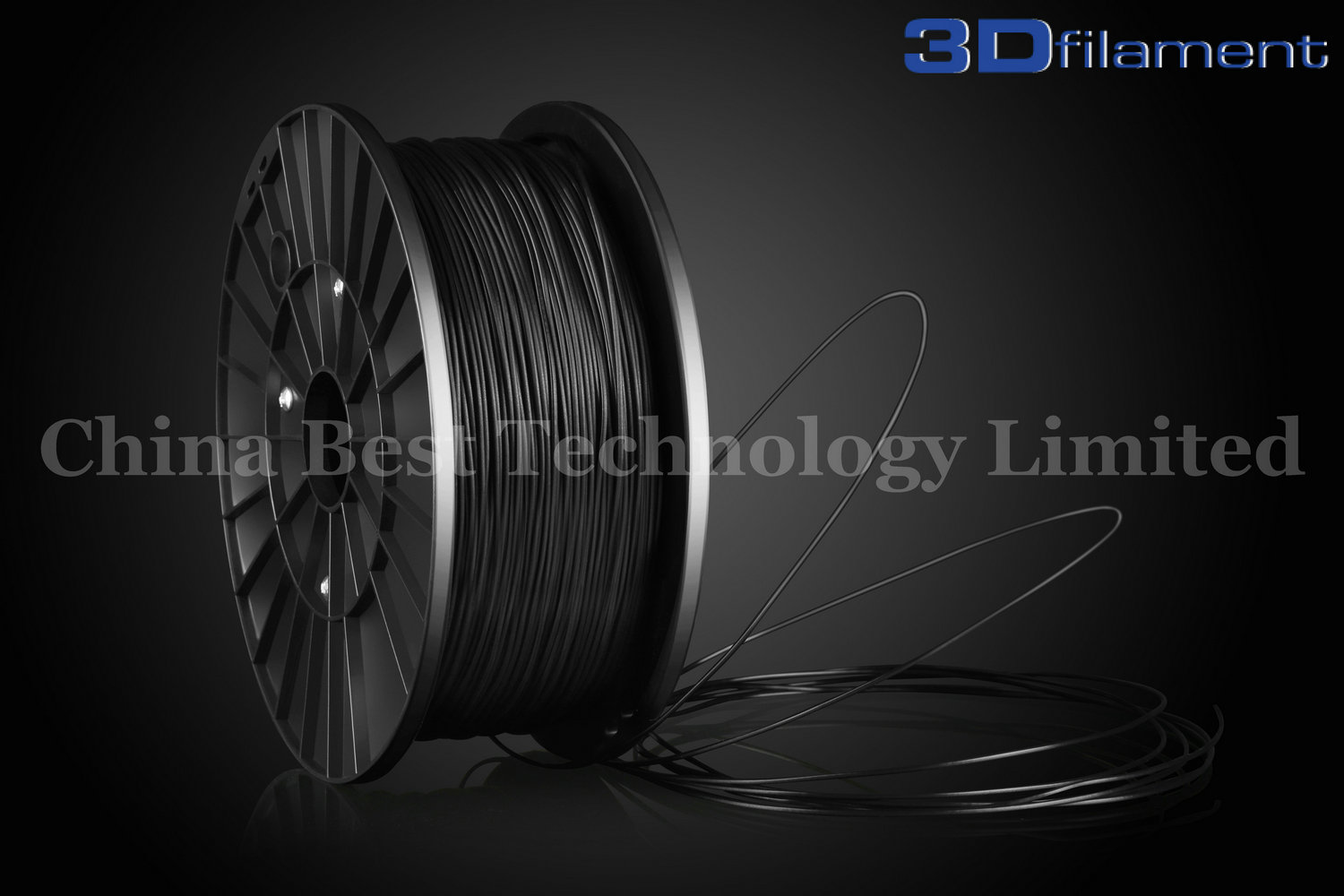 3D Printer Filament PLA 1.75mm Black