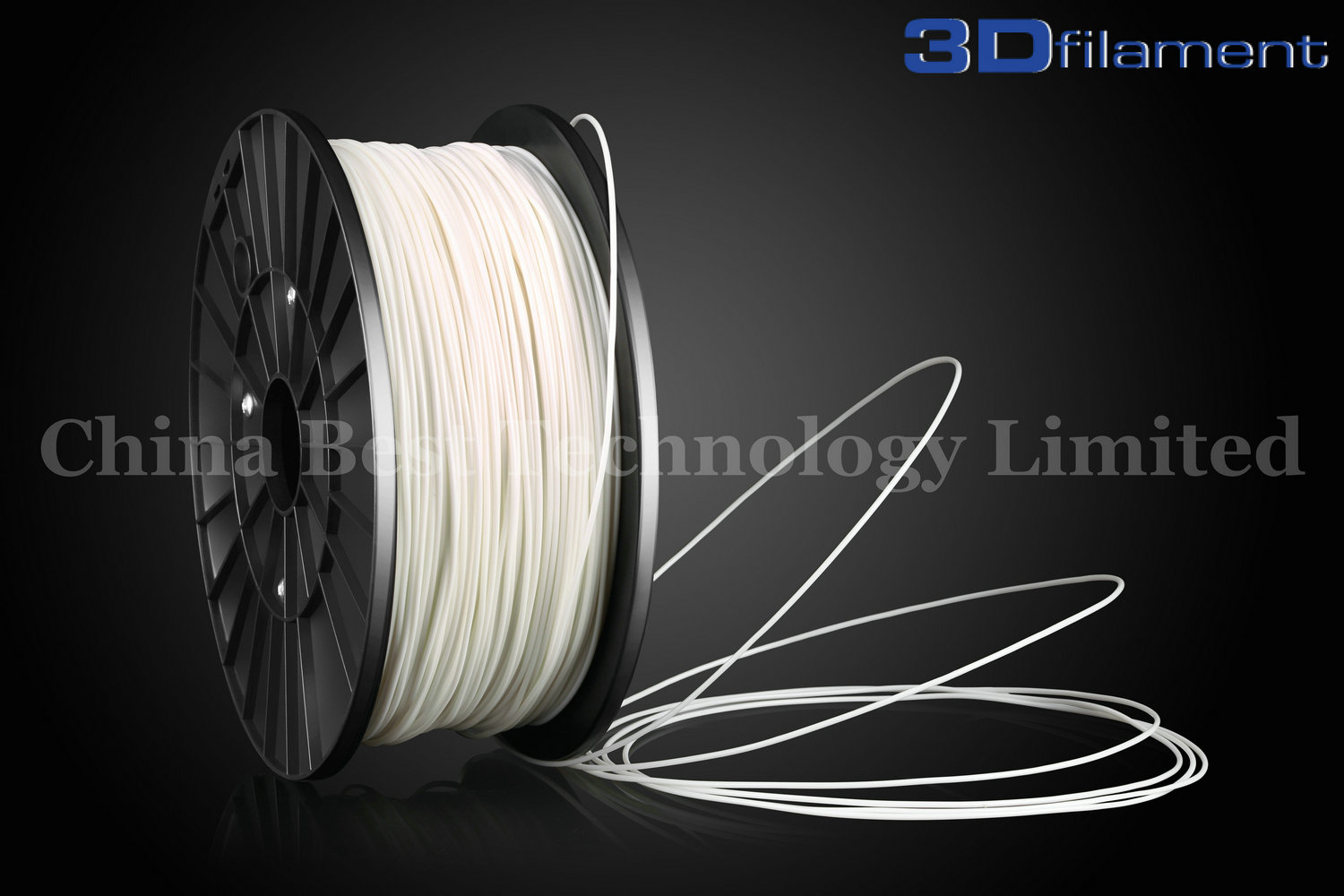 3D Printer Filament PLA 1.75mm White