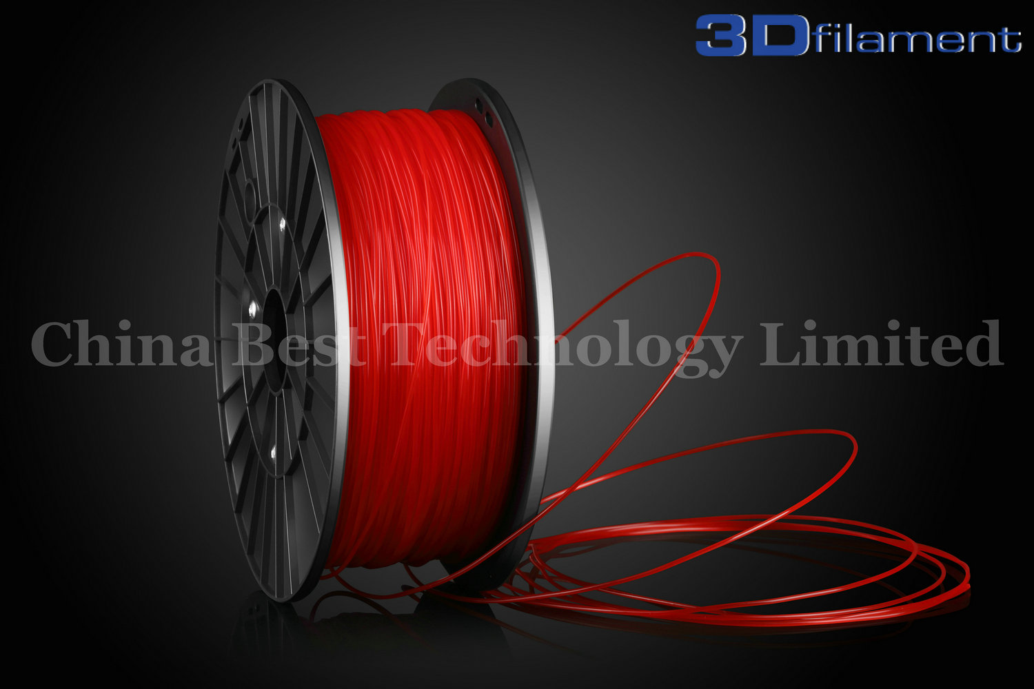 3D Printer Filament PLA 1.75mm Red