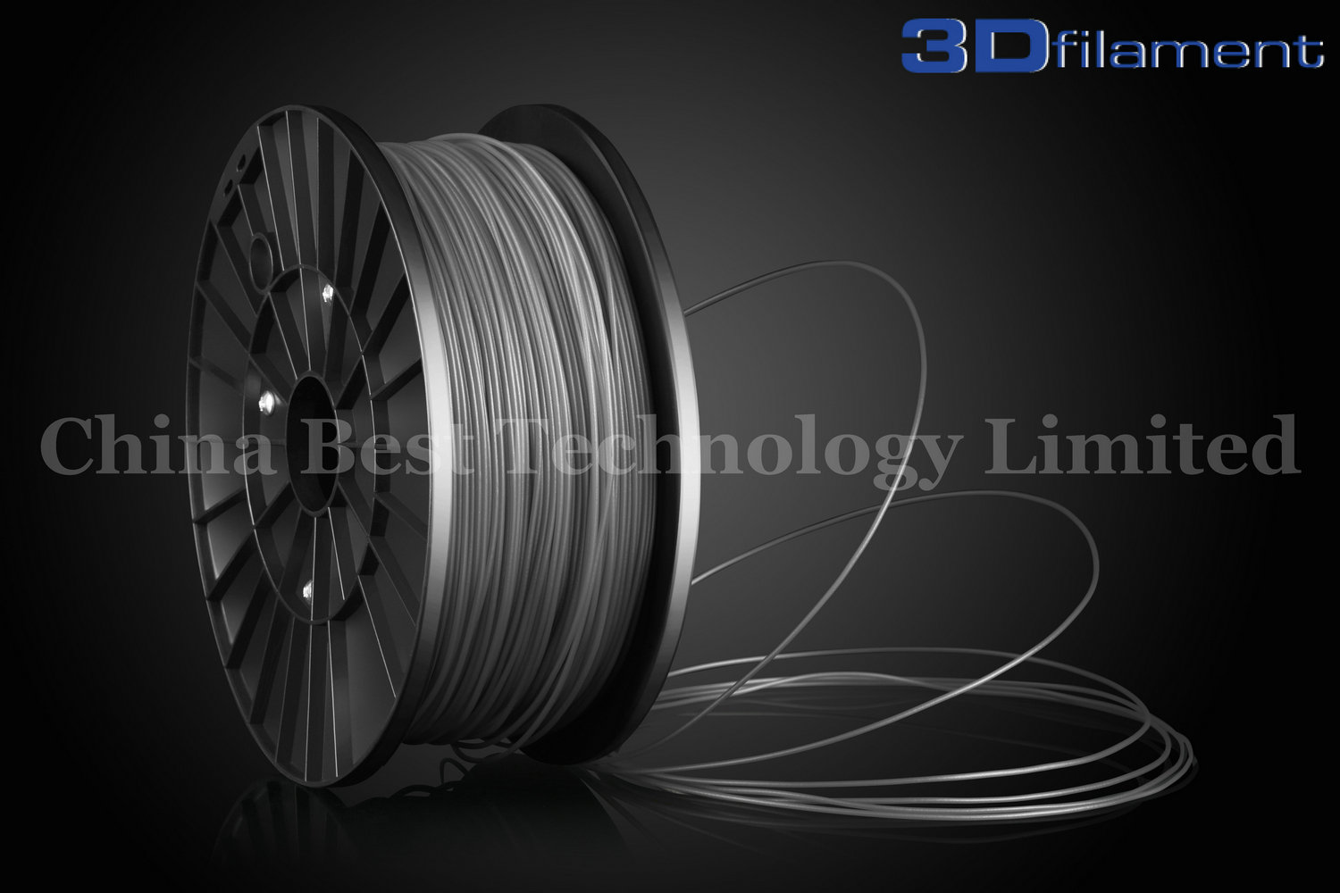 3D Printer Filament PLA 1.75mm Grey