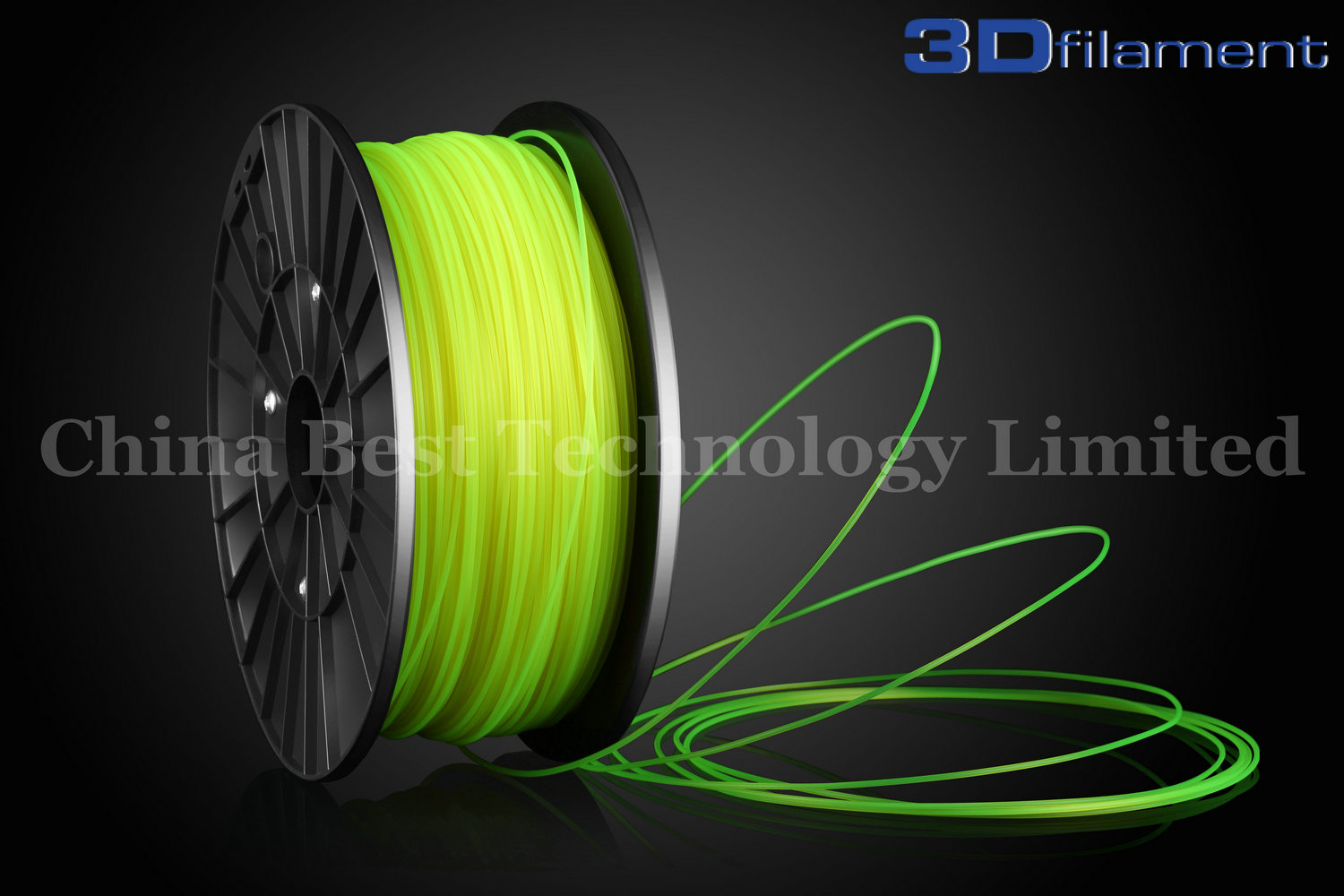 3D Printer Filament PLA 1.75mm Yellow