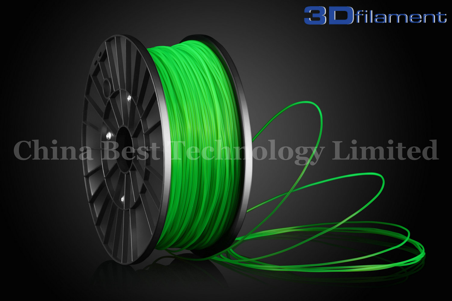 3D Printer Filament PLA 1.75mm Green