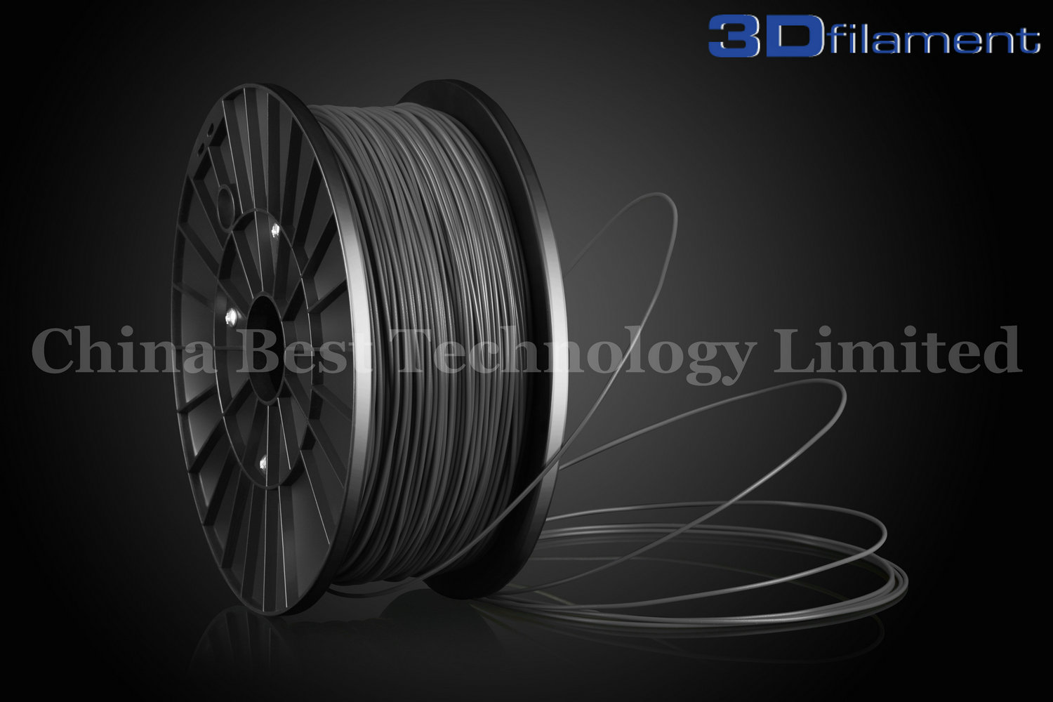 3D Printer Filament PLA 1.75mm Silver