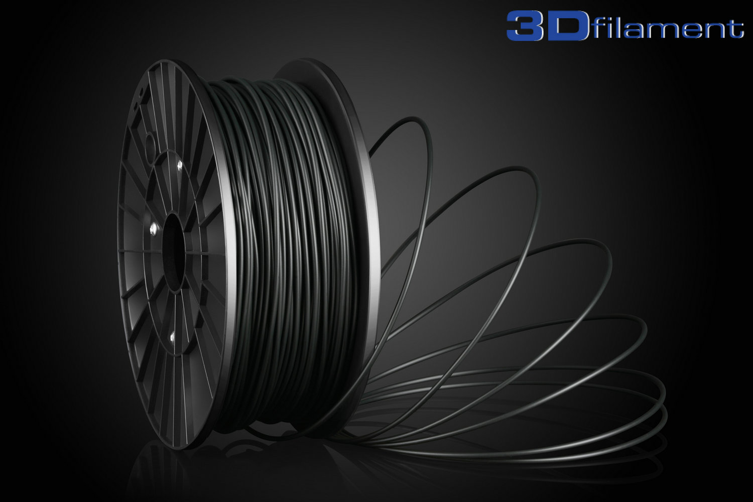 3D Printer Filament PLA 3.0mm Black