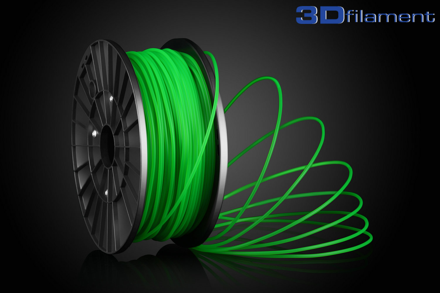 3D Printer Filament PLA 3.0mm Green