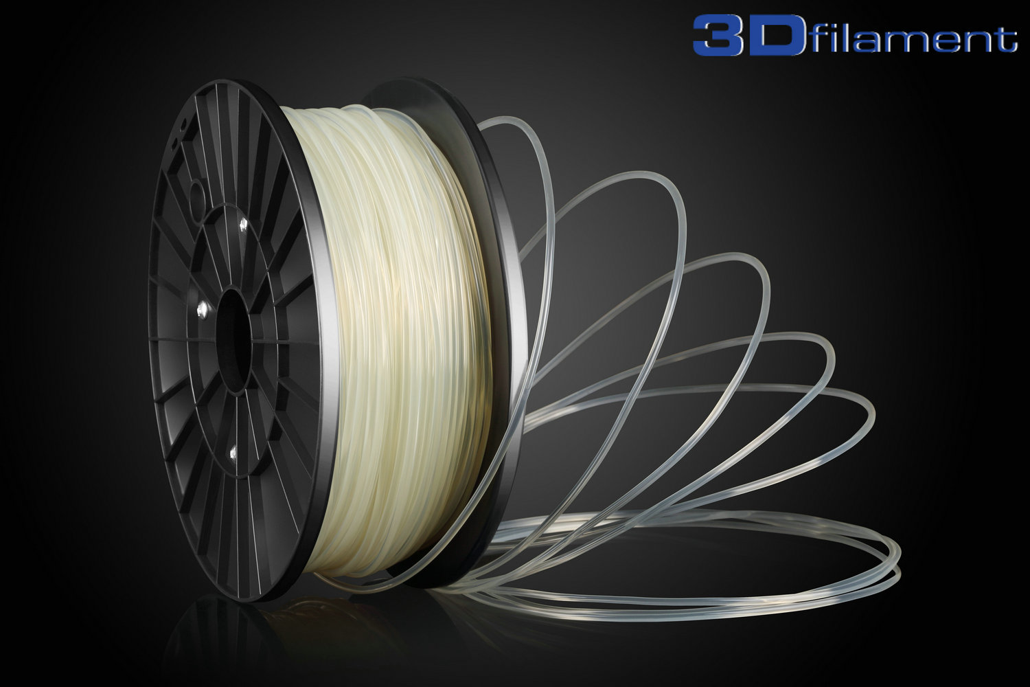 3D Printer Filament PLA 3.0mm Transparent