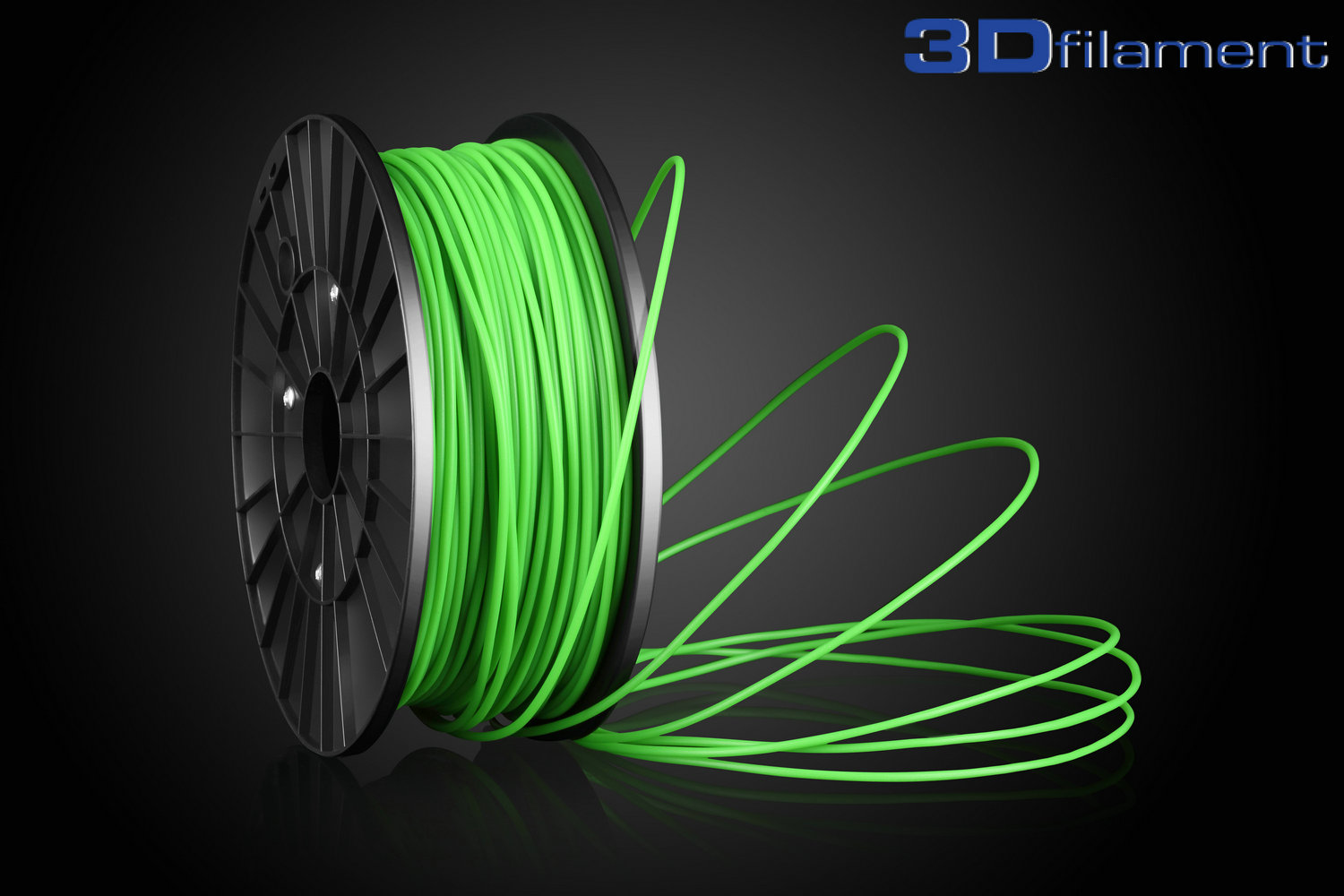 3D Printer Filament PLA 3.0mm Glow-in-the-dark