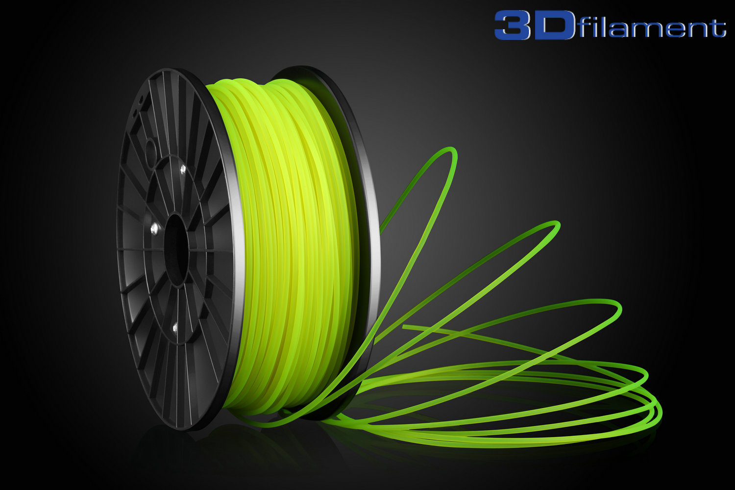 3D Printer Filament PLA 3.0mm Yellow
