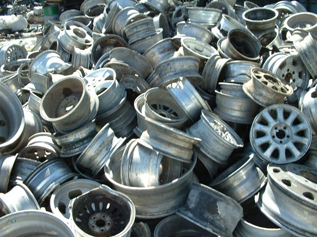 Aluminum Auto/Truck Wheels scrap
