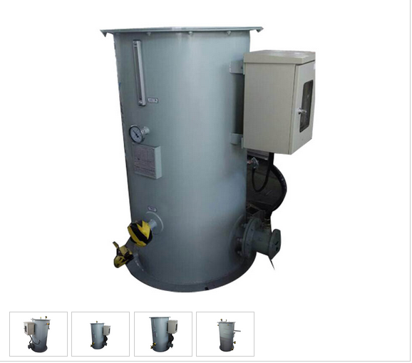 Water-Bathed Gasifier