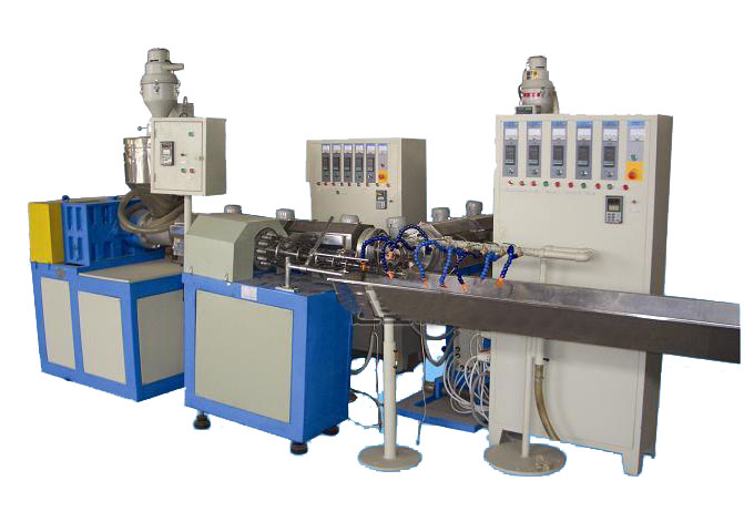 PVC Spiral Strengthened Pipe Extrusion Line