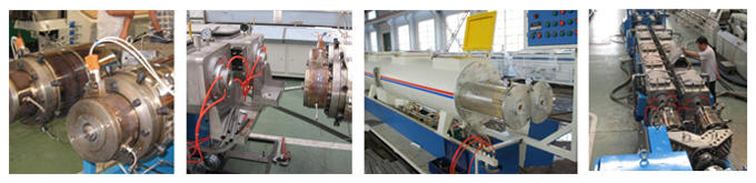 PVC Dual Pipe Production Line