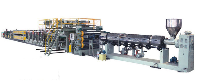 AL-PE-AL-aluminum plastic composite panel production line