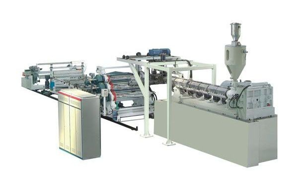 PET sheet extrusion line (twin screw extruder)