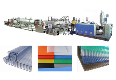 PC/PP Hollow Sheet production line