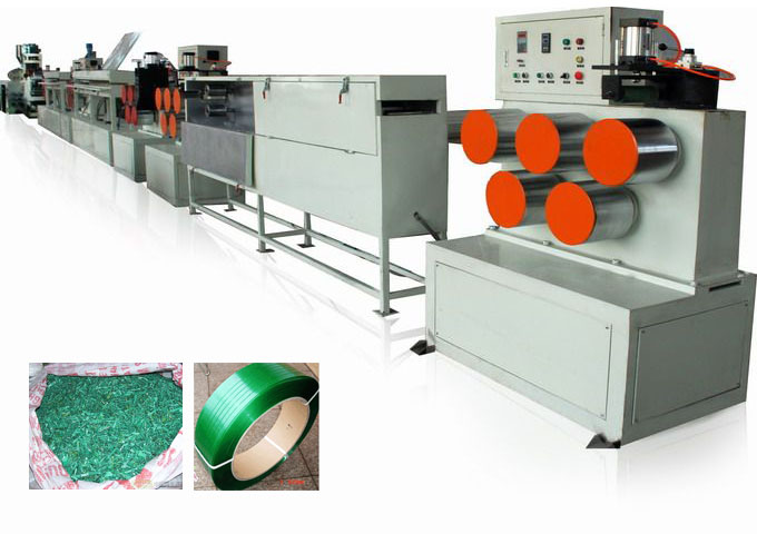 PET strap band production line
