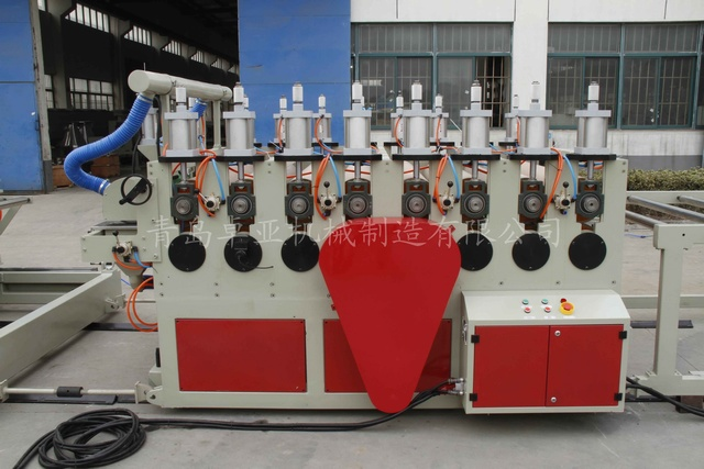 PVC skinning foamed board extrusion line