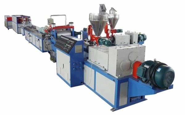 PVC siding production lines