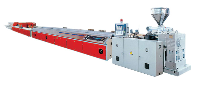 PE/PP/PVC/ABS/PA Profile Extrusion Line