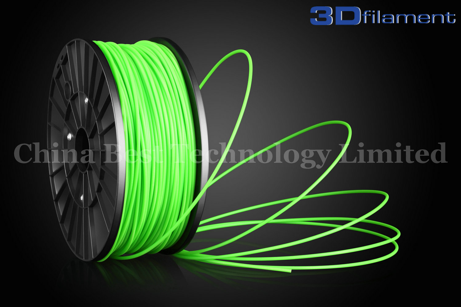 3D Printer Filament ABS 3.0mm Glow-in-the-dark