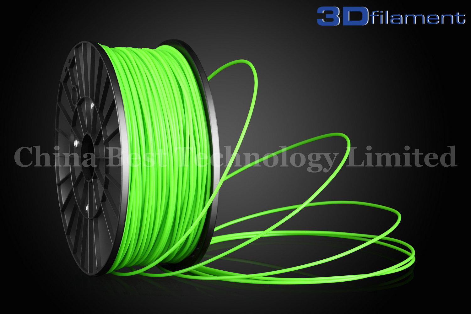 3D Printer Filament ABS 3.0mm Green