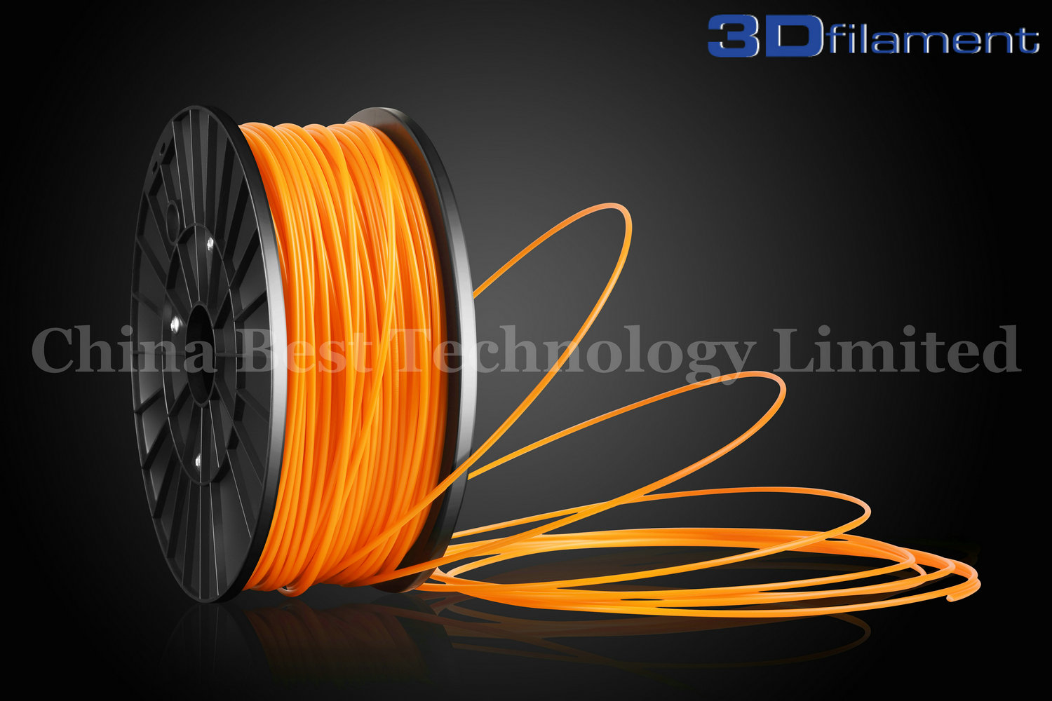 3D Printer Filament ABS 3.0mm Orange