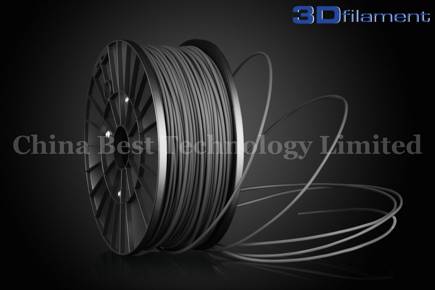 3D Printer Filament ABS 3.0mm Grey
