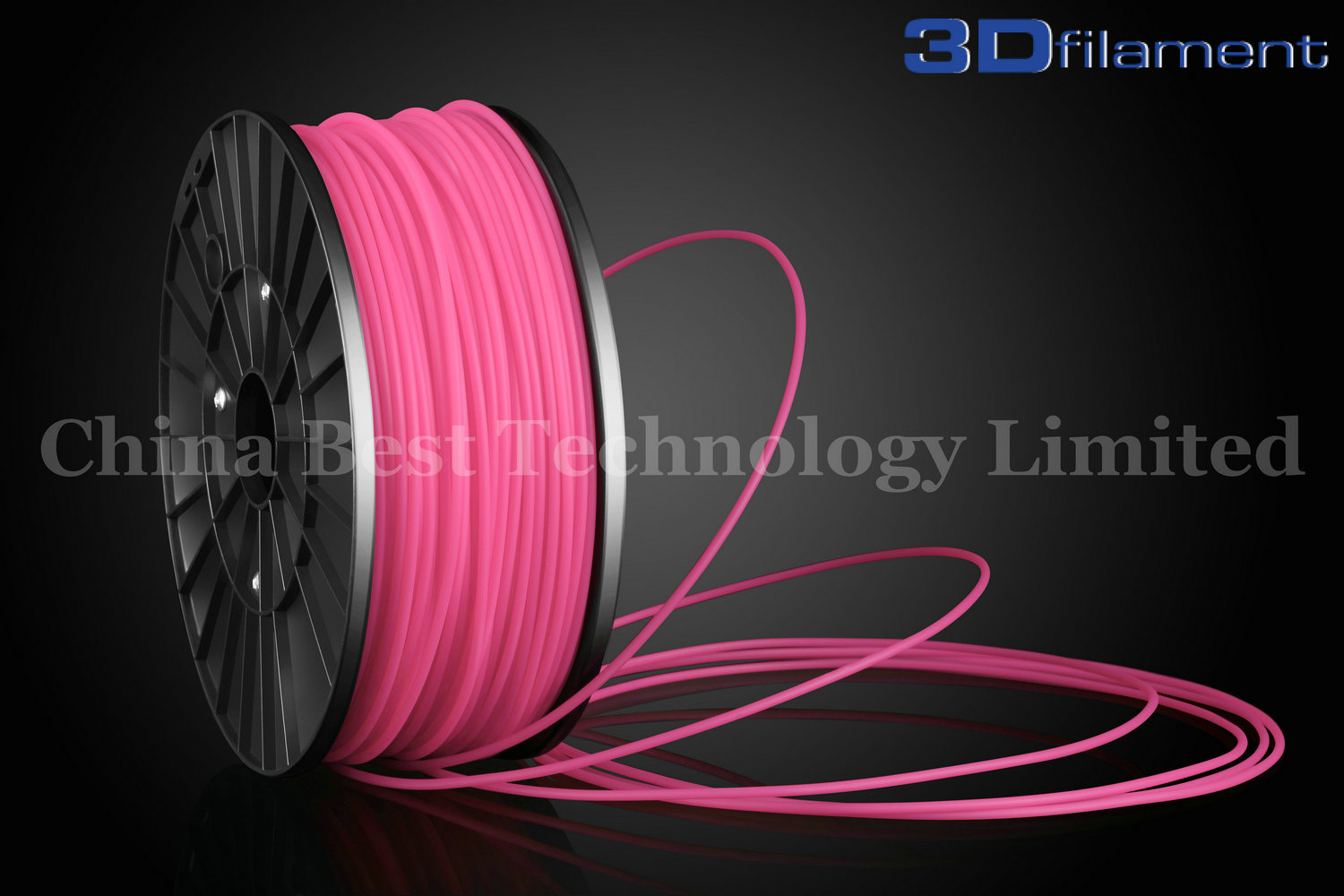 3D Printer Filament ABS 3.0mm Pink