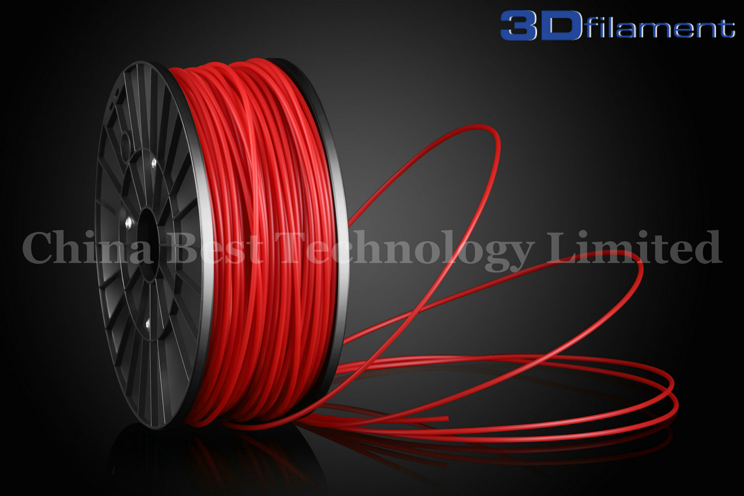 3D Printer Filament ABS 3.0mm Red
