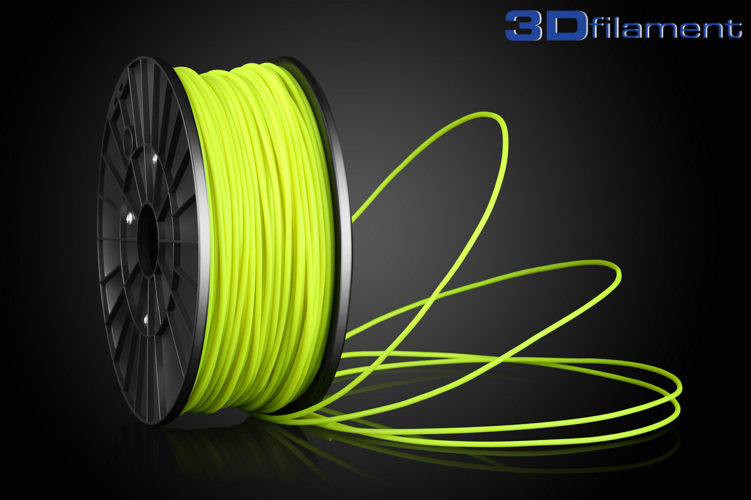 3D Printer Filament ABS 3.0mm Yellow
