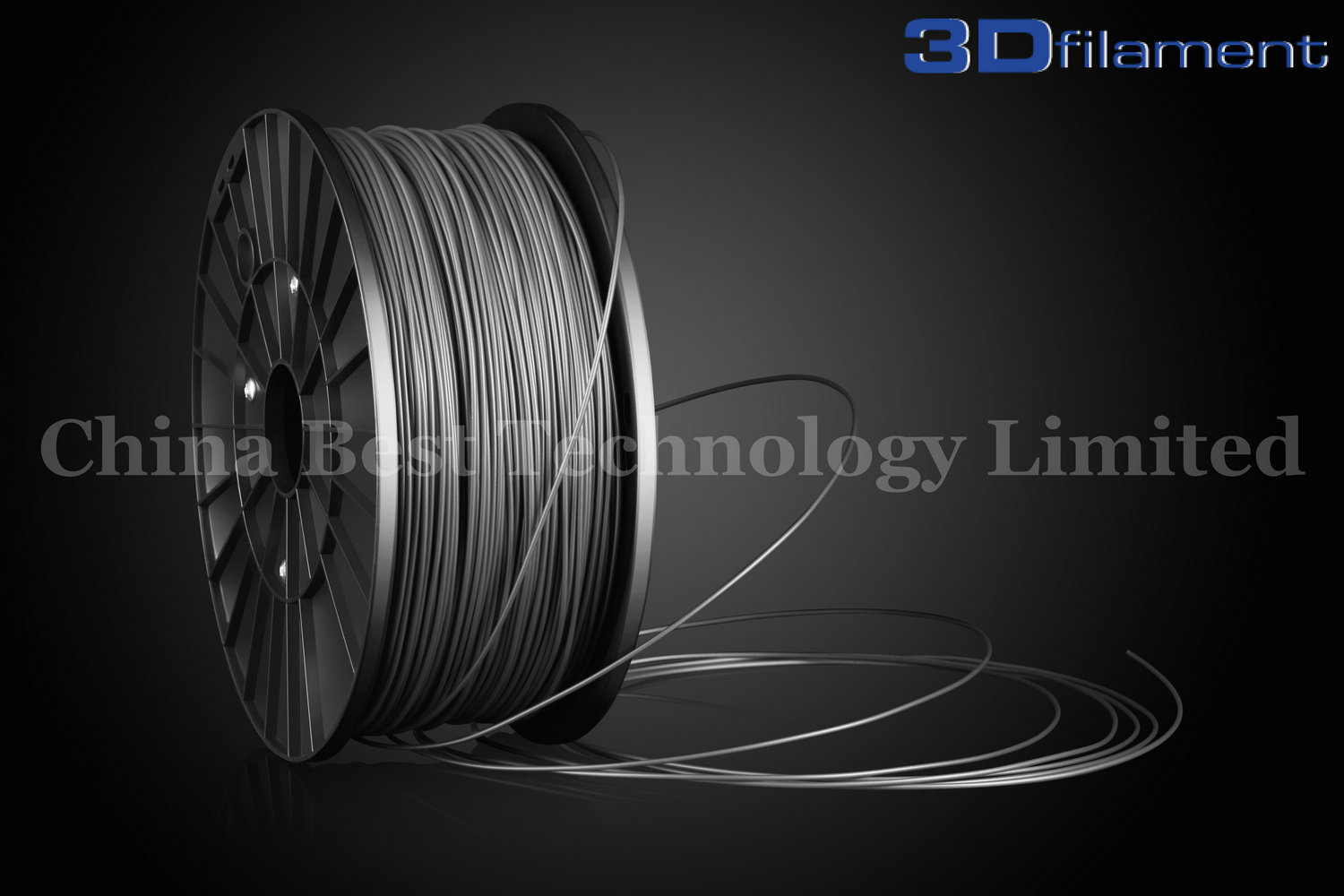 3D Printer Filament ABS 1.75mm Silver