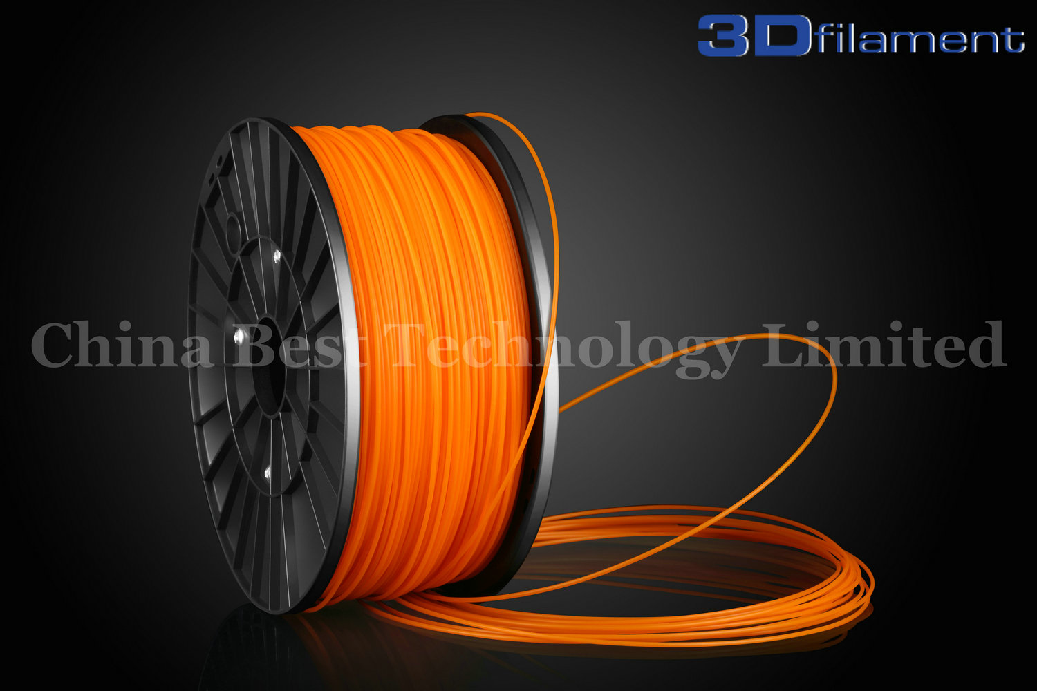 3D Printer Filament ABS 1.75mm Orange