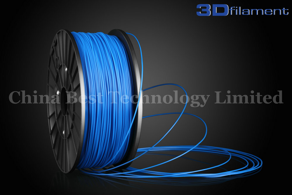 3D Printer Filament ABS 1.75mm Blue
