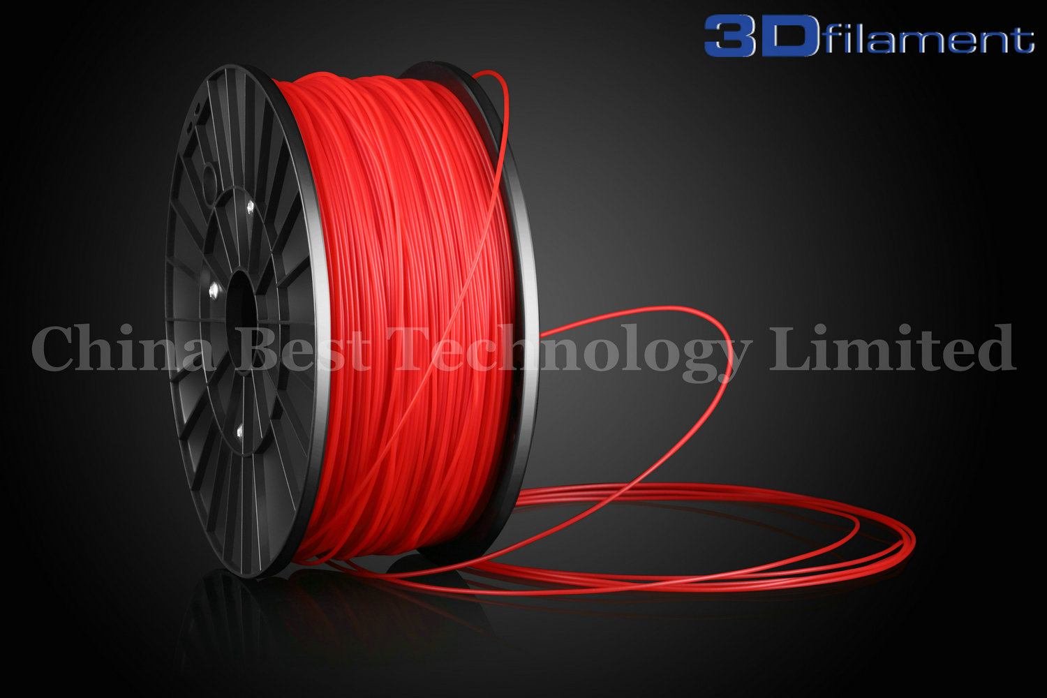 3D Printer Filament ABS 1.75mm Red