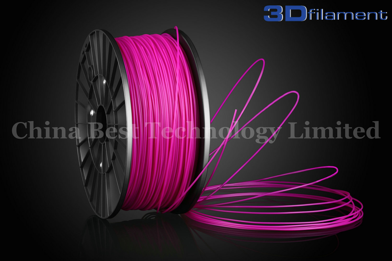 3D Printer Filament ABS 1.75mm Purple