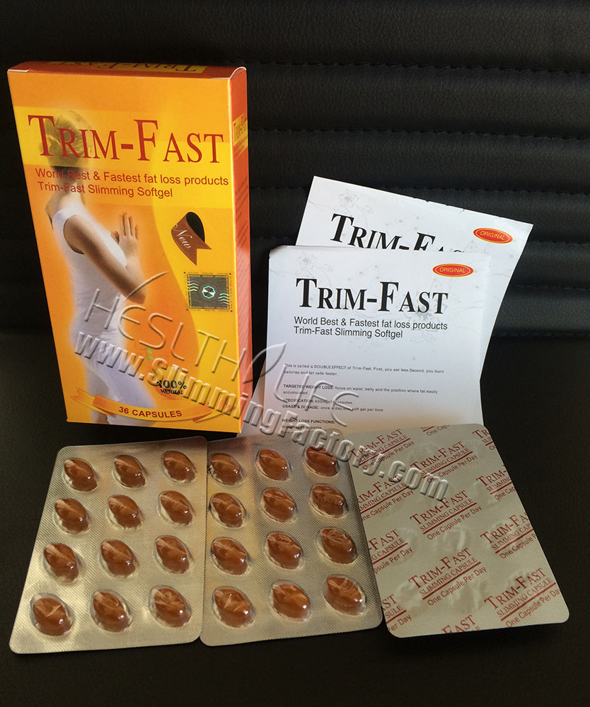 Fastest fat loss products-- Trim-Fast Slimming Pills