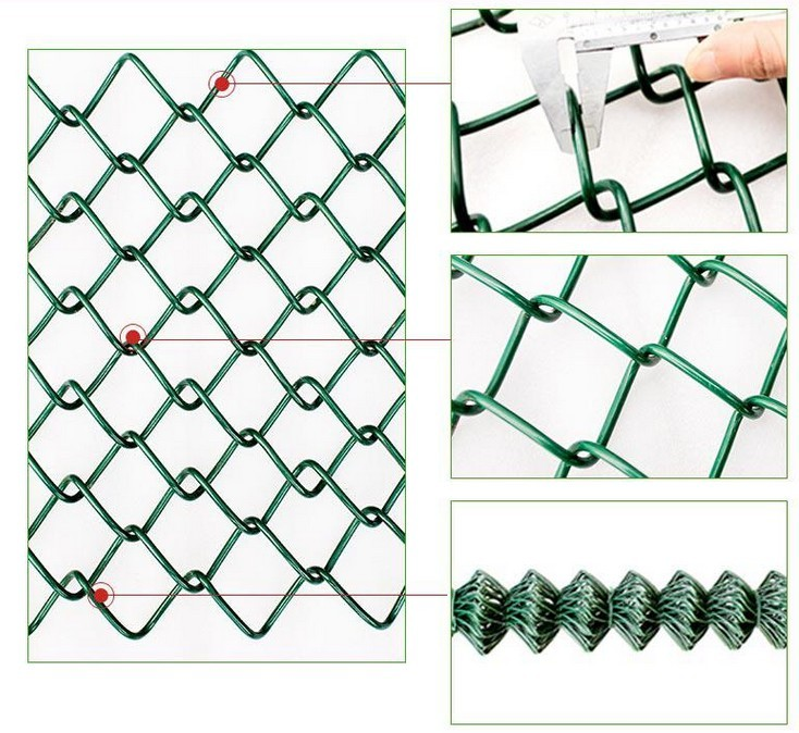 High Anti-Corrosion Chain Link fence