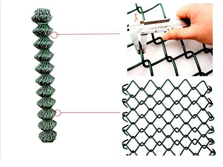 high quality Stadium fence Chain Link fence