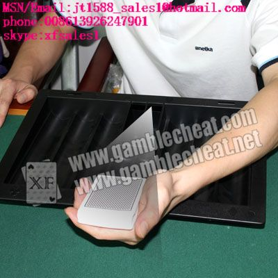 poker tray camera for poker analyzer|scan cards in hand|marked cards|infrared camera