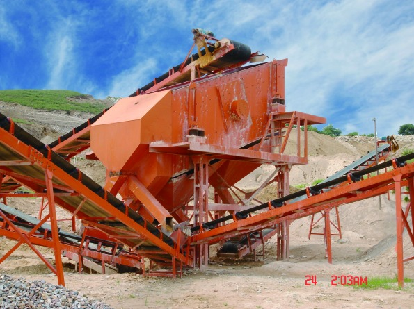 Vibrating screen series
