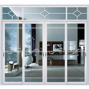 Powder Coating Aluminum Sliding Door