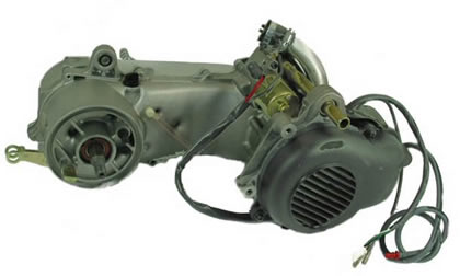 2 Stroke 50cc Jog Scooter Engine (1PE40QMB 1E40QMB) Parts