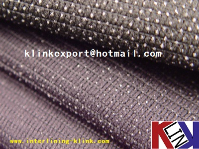 Weft Insert Fusible Interlining For Garment