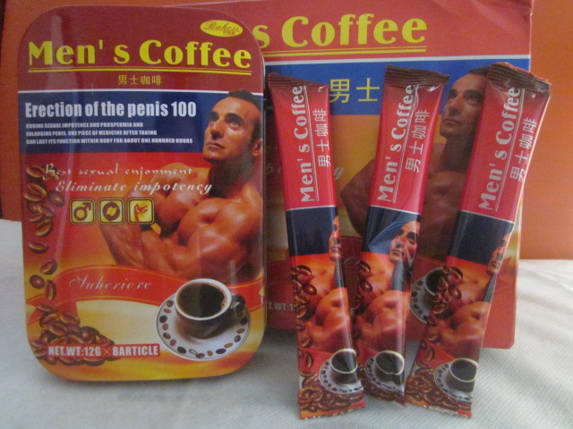 Men\'s Coffee 100% Natural Sex man Coffee erection of the penis